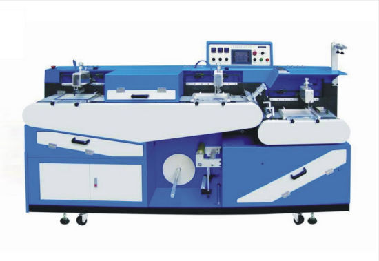 Auto Servo High Temperature Garment Labels Screen Printing Machine
