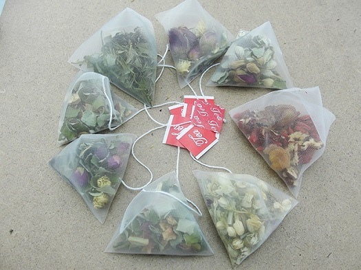 Wholesale Moroccan Green Tea Triagle Bag Filling Packaging Machine