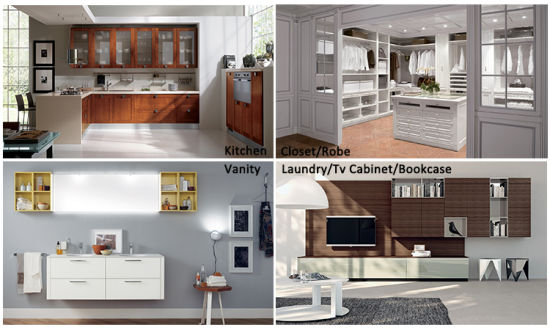 China Small Kitchen Design Wooden Kitchen Cabinet China Kitchen