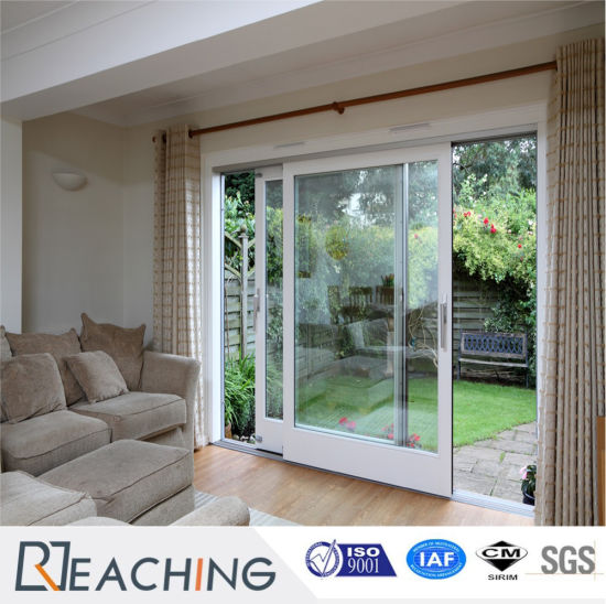 China Popular And Common Design Upvcpvc Glass Sliding Doors With