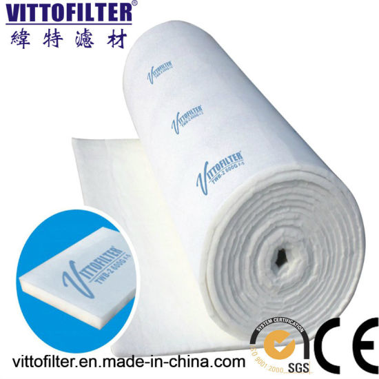 Solid Glue Ceiling Filter with Net Vdf-630g