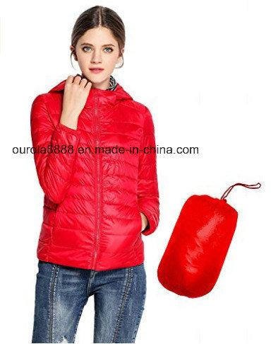 Women's Lightweight Short Padded Jacket for Winter/Autumn