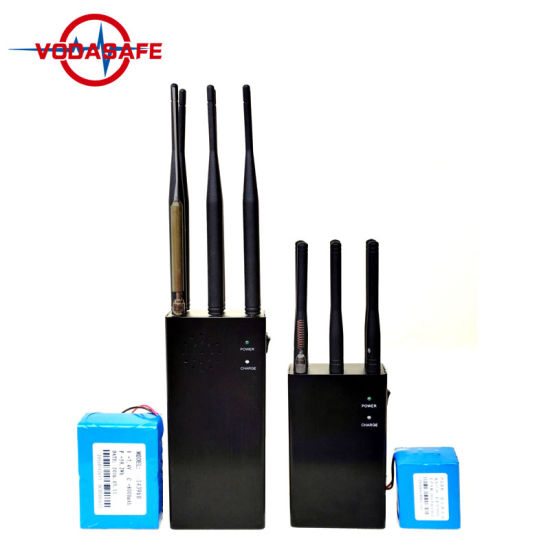 Portable Handheld Quad Bands RF Jammer 315/433/868MHz, Portable All Remote Controls RF Jammer pictures & photos