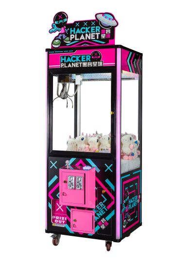 Hacker Planet/Gift/Game /Claw Machine/Game Player/Arcade Game Machines/Video Game/Amusement Machine/Arcade Machine/Game Machine