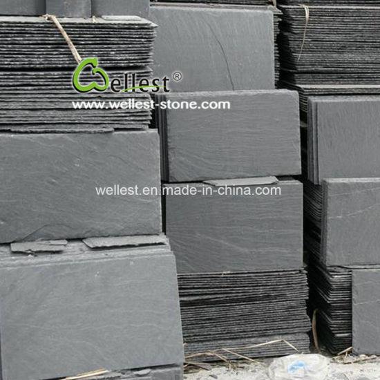 China black slate roof tiles slate roofing tiles roof for Slate roof covering