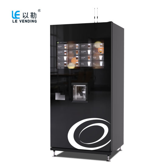 Coffee Vending Machine with Ice
