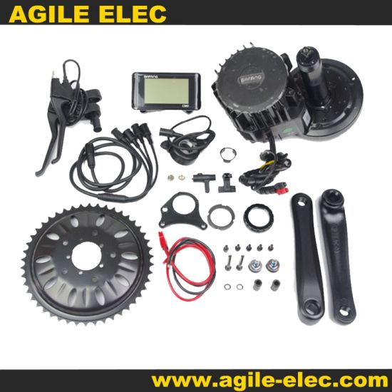 BBS02 48V 750W Bafang MID Drive Motor Kit with Lithium Battery