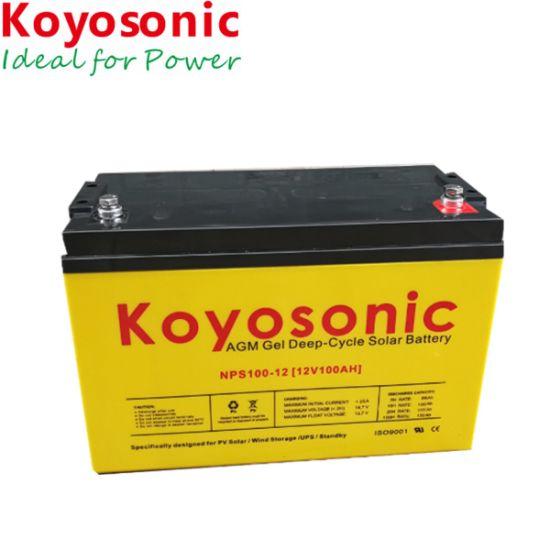 Best Battery for Solar Power System 12V 90ah Solar Deep Cycle Gel Battery