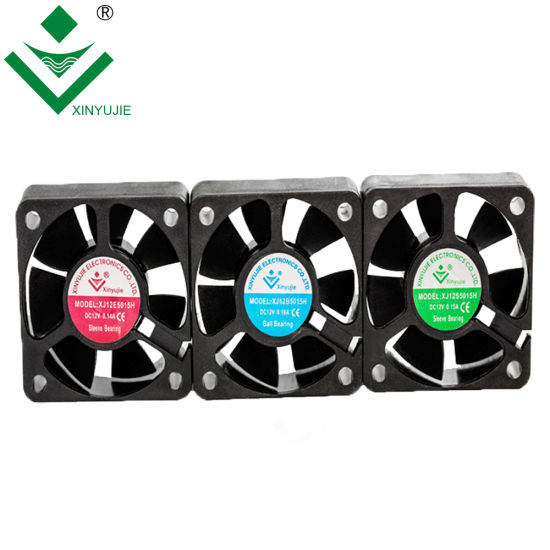 50X50X15mm DC Cooling Fans High Speed Low Noise Level Plastic Mini Axial Exhaust Fan Made in China pictures & photos