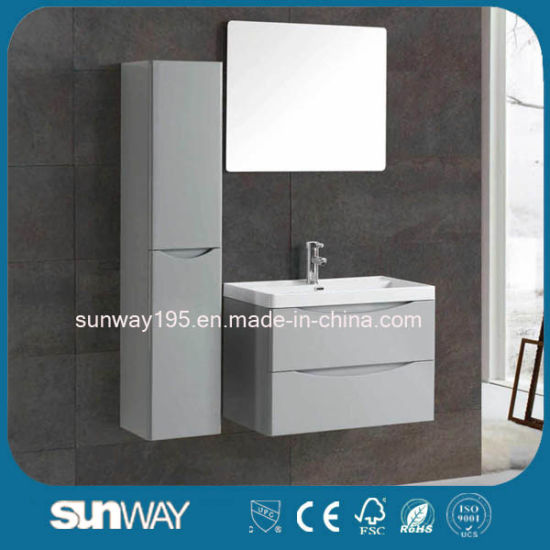 48 Inch Hotel Modern Waterproof Wall Mounted MDF Bathroom Vanity