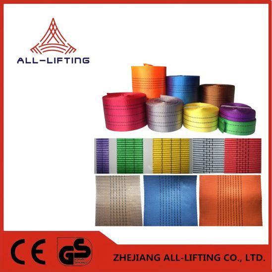 Lifting Equipment Durable Yarn Polyester Webbing for Lifting Belt