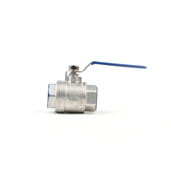 Manufacture 2PC Stainless Steel Threaded Ball Valve CF8m pictures & photos