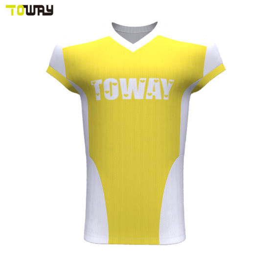 lowest price a34bf 13134 Full Sublimation Wholesale Blank American Football Jersey