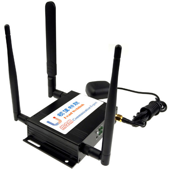 4G Lte Industry Router with SIM Card, WiFi, GPS, Linux or Openwrt
