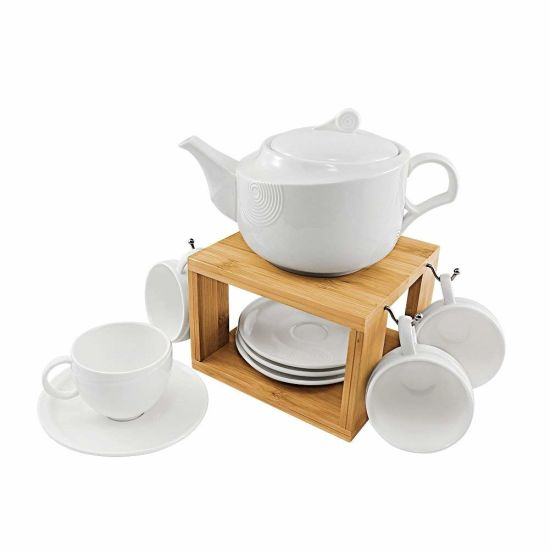 Modern Teapot Tea Cups And Saucers Set For Home And Office China Bamboo Cup Rack Cup Rack Made In China Com