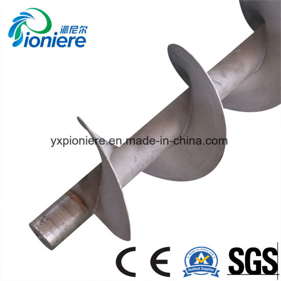 Screw Shaft Used for Sludge Dewatering Equipment pictures & photos