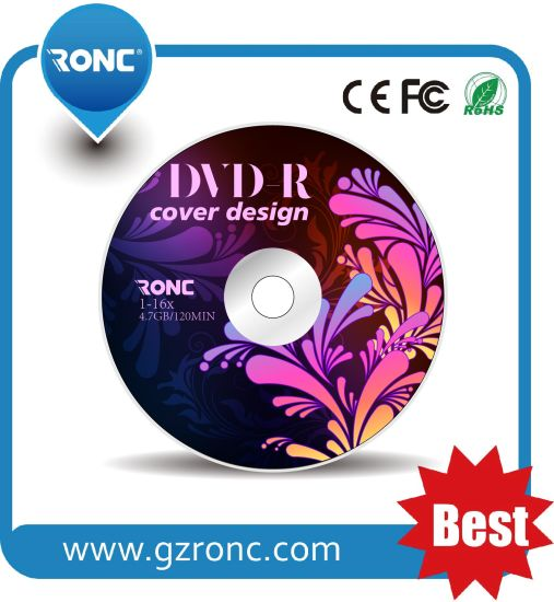 Recordable DVD-R 16X Good Quality with Wholesale Price pictures & photos