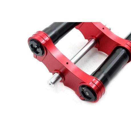 660mm Inverted Motorbike Front Fork Dirtbike Suspension Fork Disc