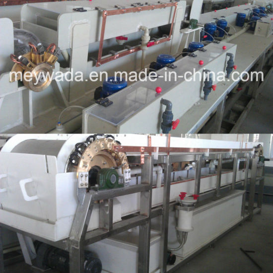 Copper Wire Electrolytic Tin Plating Machine