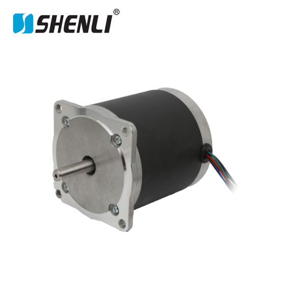 Modern Popular Economical 86mm Hybrid Stepper Motor with Double Shaft pictures & photos