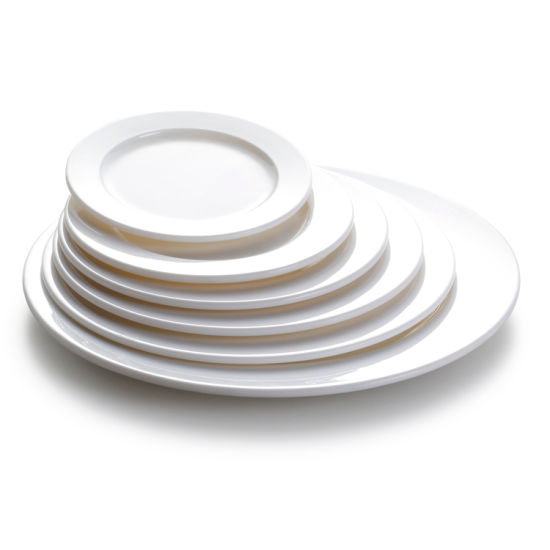 Wholesale Restaurant Serving Plastic Dinner Charger Plates