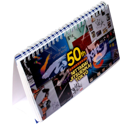 Hot Sale Customzied Printing 3D Image Paper Desk Calendar