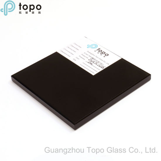 Guangzhou Wholesale 12mm Black Tinted Float Glass (C-B) pictures & photos