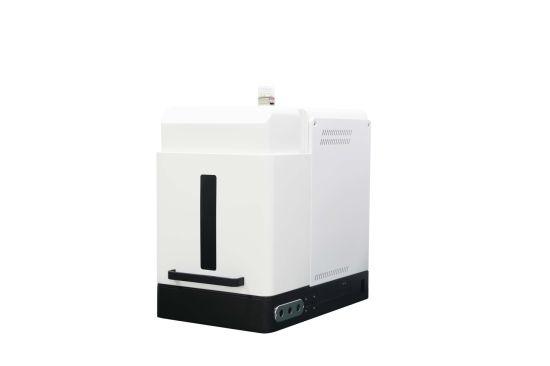 Fiber Laser Marking Machine Cabinet Desk Style White