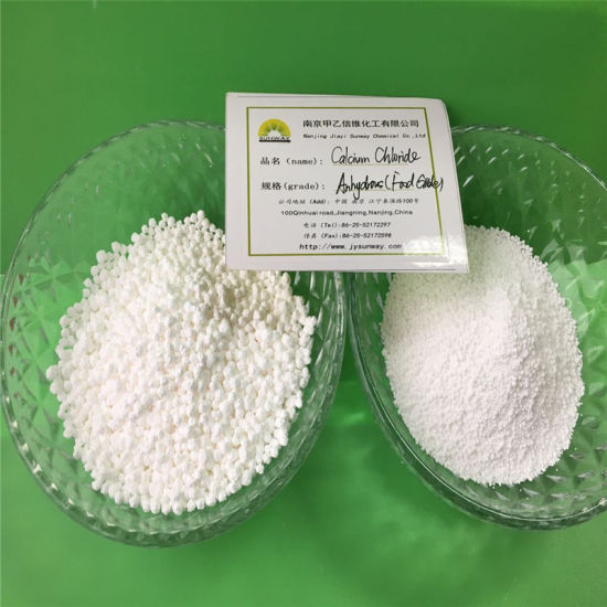 High Quality Food Additives 93% Powder Calcium Chloride Cacl2 pictures & photos