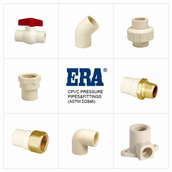 Era Plastic/CPVC/Pressure Pipe Fittings Brass Transition Female Elbow Cts NSF-Pw & Upc