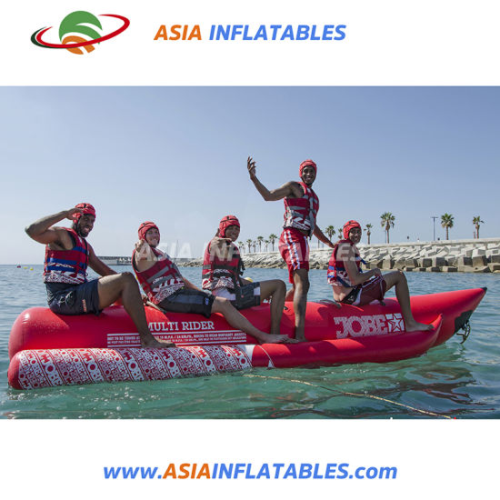 Ocean Rider Banana Boat Flying Inflatable Water Sled For 6 Persons Entertainment Sports & Entertainment