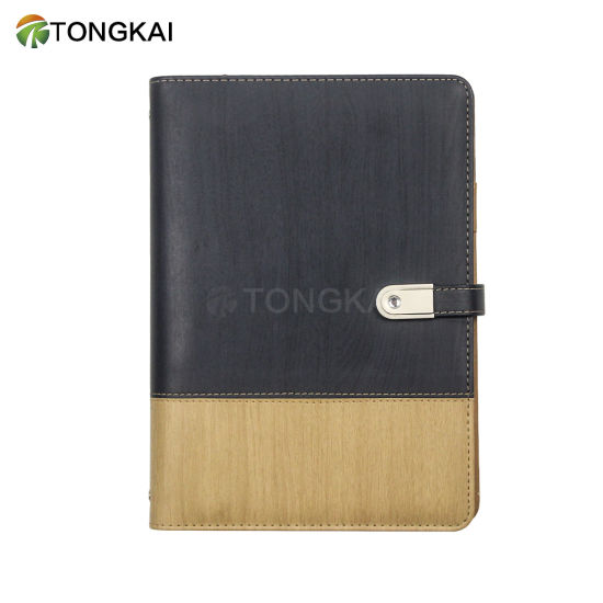 Tongkai Custom Leather Cover Ring Binder