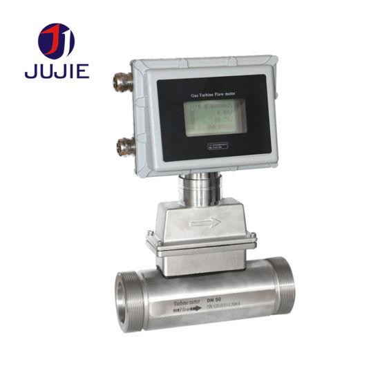 Lwq Gas Turbine Flowmeter /Compressed Air Turbine Flow Meter