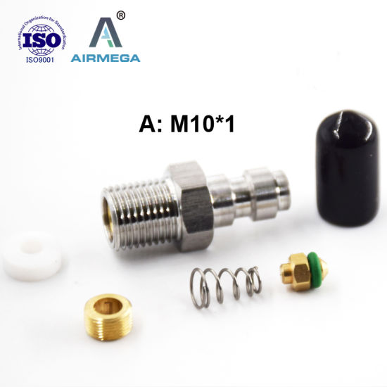 OEM CNC Female 1/8 BSPP Quick Disconnect for Air Gun Charging Kit Plug Machine pictures & photos