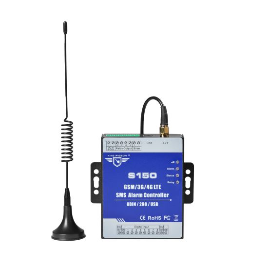 Professional GSM Remote Control Relay with PA Amplifier to Switch on/off a Device
