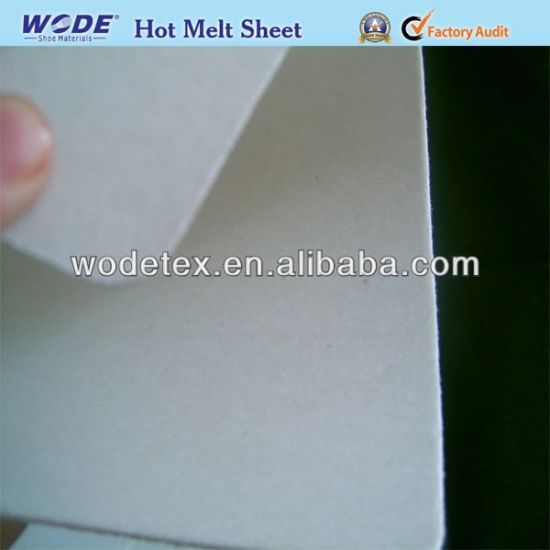 Hot Melt Glue Sheets for Shoes Toe Puff Thermoplastic Shoes Material