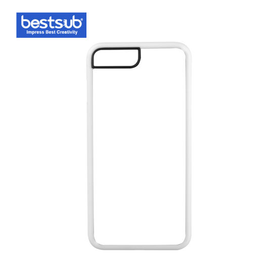 Bestsub New Arrival Sublimation for iPhone 7/8 Plus White Rubber Cover (IP7PR01W) pictures & photos