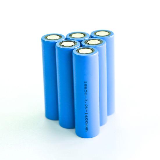 Ifr18650-1600mAh-3.2V LiFePO4 Battery Cell
