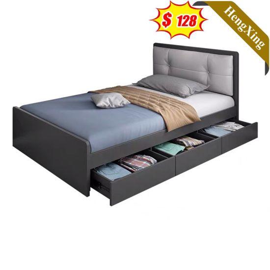 Custom New Design Home Bedroom Furniture Wooden Single Combination Kids Bed