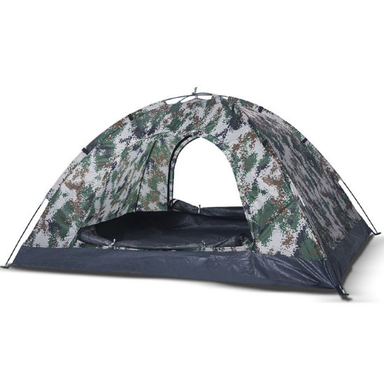 China 2020 Hot Sale 1 2 Person Single Layer Outdoor Tent Outdoor Army Green For Camping China Camping Tents And Pop Up Camping Tent Price