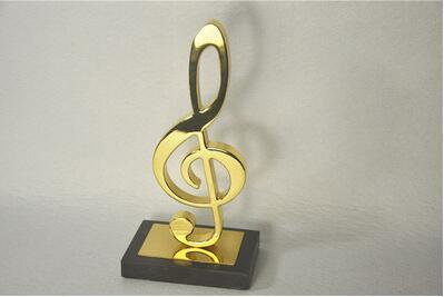 2020 Promotional OEM Gift Music Metal Craft for Sitting Room