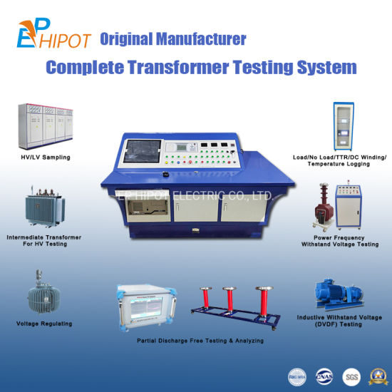PLC Automatic Transformer Test System with Powerful Operating Software