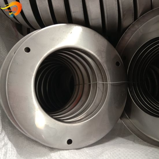 Open Round End Cap with Tri-Bolt Holes Filter End Covers for Dust Collector