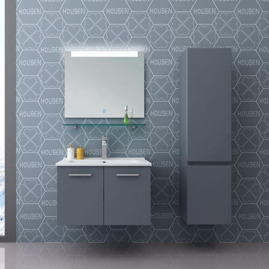 China 36 Inch Blue Bathroom Vanity Single Sink Best Quality Bathroom Wash Basin Cabinet China 36 Inch Blue Bathroom Vanity Single Sink Best Quality Bathroom Vanities