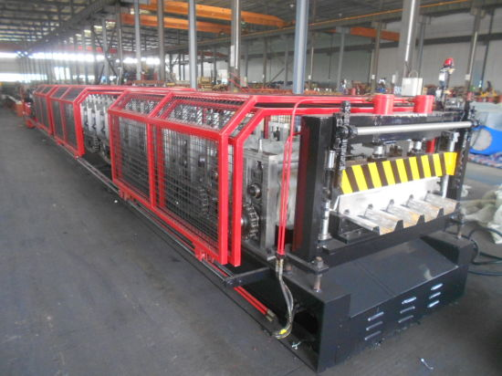 Yx60-216.2-865 Floor Decking Profile Roll Forming Making Machine for Sale