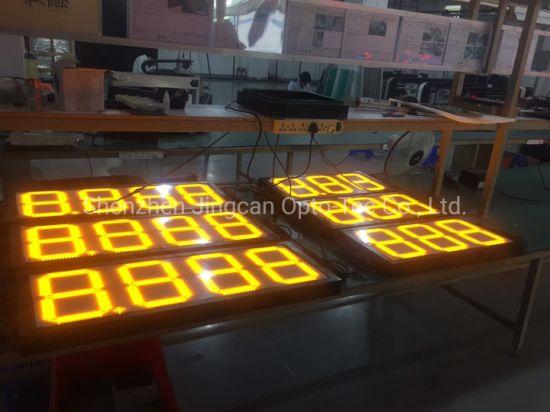 Outdoor Waterproof 8.888 4 Digital LED Gas/Oil/Petrol Price Display