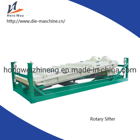 Wood Rotary Screen Sifter Machine