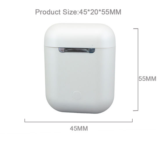 I12 Bluetooth 5.0 Ture Wireless Earphone for Apple Air Pods