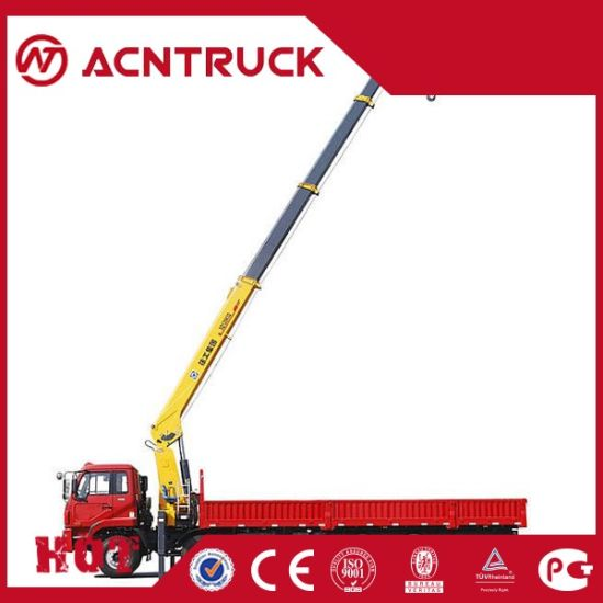 12ton (Sqs300-4) China Truck Mounted Crane with High Qyality pictures & photos