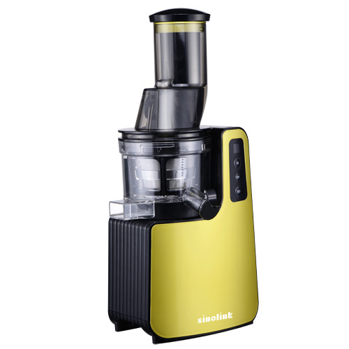 200W DC Motor Household Masticating Slow Juicer with Big Mouth